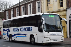 P500ABY  Abbey Coaches, Glasgow (highlandreiver) Tags: bus abbey coach glasgow cumbria carlisle coaches strathclyde p500 aby plaxton p500aby neiston