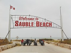 Welcome to Sauble Beach (whataride247) Tags: motorcycletouring