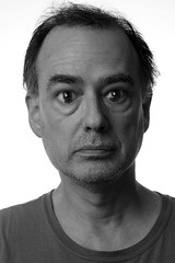 48 Two (Rob Johnstone) Tags: portrait man portraits self eyes funny age aged middle 48