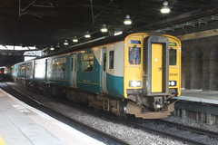 160410-140101 (Arriva Wales 150245) (Bus Buster UK) Tags: street new wales train birmingham diesel platform engineering rail class 150 chester international multiple british limited ltd britishrail cancelled 2b unit arriva 1502 dmu platform2b brel birminghamnewstreet dieselmultipleunit terminated birminghaminternational britishrailengineeringlimited arrivawales britishrailengineering britishrailengineeringltd 1g19