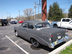 Blackjax Bar 4/10/2016 56 Chevy Bel Air (Speeder1) Tags: show street cruise two hot classic ford chevrolet car bar rat pennsylvania muscle air pa chevy lane tavern rod 1956 55 goons bel aces 56 willys gasket blacktop eights birdsboro blackjax