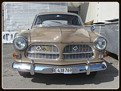 Volvo 122S (v8dub) Tags: auto old classic car schweiz switzerland volvo amazon automobile suisse s automotive swedish voiture oldtimer fribourg oldcar freiburg collector 122 wagen pkw klassik worldcars