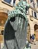 Goldene Pforte, Rathaus Dresden (André-DD) Tags: statue germany deutschland dresden cityhall saxony lion sachsen rathaus löwe pforte goldenepforte