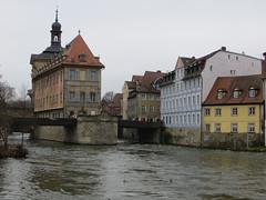 2016-031921B (bubbahop) Tags: river germany cityhall bamberg rathaus gct 2016 regnitz grandcircle europetrip33