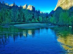 Merced River at Sunrise. Yosemite California (Travel to Eat) Tags: california waterfall nationalpark scenery yosemite mercedriver