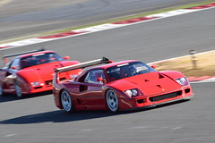 Ferrari F40 LM (Andr.32) Tags: cars car japan race photography super ferrari racing exotic lm motorsports supercar motorsport racingcar supercars autosport f40 fsw sportcar sportcars worldpremiere fujispeedway ferrarif40 f40lm  ferrarif40lm bingosports