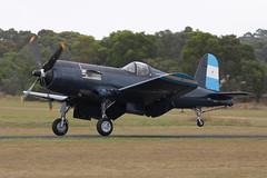 F4U-5N VH-III 13 (joolsgriff) Tags: airshow corsair chance warbird 2016 vought tyabb f4u5n 124493 ytya fah603 peninsulaaeroclub vhiii