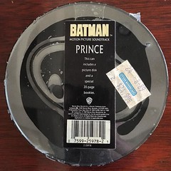 Maybe I should finally open it #ripprince #tbt (cmiked) Tags: texas waco prince batman squaredcircle 1989 squircle soundwarehouse 366112 proj366 instagram ifttt