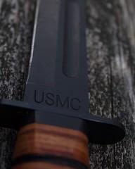 USMC (jconstable16) Tags: macro usmc canon eos rebel photographer knife t5 knives 1855mm macrophotography kabar canonphotos canonphotography macrodreams
