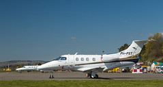 PH-PST Phenom, Dundee (wwshack) Tags: scotland riverside dundee dnd phenom embraer businessjet corporatejet egpn phpst execuitiveaviation