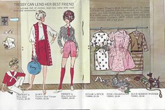 5. Tressy, Mary, & Cricket Booklet (Foxy Belle) Tags: fashion vintage paper toy doll character mary makeup cricket american booklet 1960s clone catalogue tressy