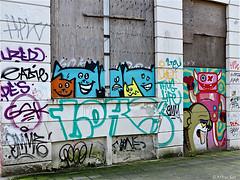 Rotterdam (Akbar Sim) Tags: streetart holland netherlands graffiti rotterdam nederland lastplak rotjeknor akbarsimonse akbarsim