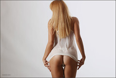 sweet butt (Yepanchintcev Aleksey) Tags: sexy ass girl panties studio nice erotic sweet butt bum asshole blonde backside sugary dulcet arsehole honeyed honied
