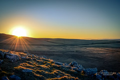 Sunrise in the Dales (tbnate) Tags: longexposure sky sun nature sunrise landscape outside lights nikon outdoor yorkshire nd northyorkshire yorkshiredales ndfilter d5100 nikond5100 tbnate