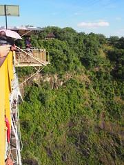 The Victoria Falls Bungy (little_duckie) Tags: africa zimbabwe bungy bungee zambezi bungyjump zambeziriver 111metres