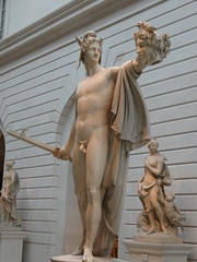 New York. The  Metropolitan Museum of Art.  Amazing statue of  the ancient Greek God Perseus with the severed head of Medusa. By Canova 1806. (denisbin) Tags: newyork art statue museum naked greek god head marble ew medusa perseus severedhead metropolitanmuseumofart severed nakedmale yorksevresporcelainchinasalonmetropolitan