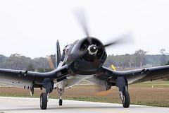 F4U-5N VH-III 15 (joolsgriff) Tags: airshow corsair chance warbird 2016 vought tyabb f4u5n ytya peninsulaaeroclub vhiii