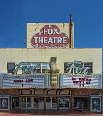 FOX THEATER, TAFT, CA (akahawkeyefan) Tags: ca movie theater fox taft davemeyer