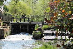Weir at Westminster Mill (Karl's Photography) Tags: water river weir riverdarent darent westminstermill weiratwestminstermill