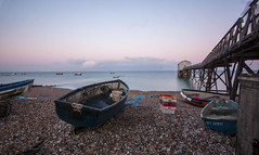 DSC_6963 (burton_ii) Tags: longexposure sea beach boats fishing stones nd selsey lifeboatstation selseybeach kelseybill kelseylifeboat