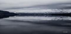 Mystic morning! (Jim Skarli) Tags: morning mist lake seascape reflection nature water norway fog clouds landscape outdoors grey nikon mood skies may silence scandinavia mjsa