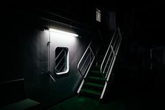 Claustrophobia (Toni Ahvenainen) Tags: ferry night zeiss dark ship darkness deck claustrophobic outerdeck batis225 batis1885