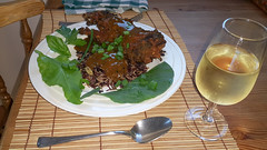 2016-04-25 16.58.05 (Damien_Toman) Tags: new red wild brown black cooking hare rice herbs curry zealand spices nz tandoori