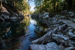 Ro pas (andhf) Tags: wild water rio river agua shadows calm jungle pas cantabria puenteviesgo