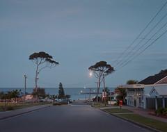 (roundtheplace) Tags: ocean longexposure beach mediumformat landscape coast lowlight dusk australia nsw 6x7 australianlandscape portra 67 portra400 landscapephotography pentax67