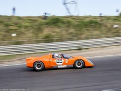 2015 Zandvoort Historic GP: Chevron B16 (8w6thgear) Tags: historic grandprix chevron zandvoort gp sportscar 2015 b16 tarzanbocht fiamastershistoricsportscars