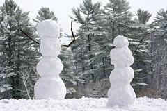 Snowmen we have met 2 (rachel.roze) Tags: snow snowmen hanover january2016