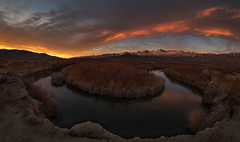 Exploring The Range Of Light (WJMcIntosh) Tags: sunrise owensriver rokinon12mm28fisheye theresonantlandscape easeternsierras