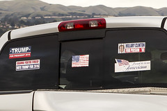 6/366  Idiot Trump supporter (pointnshoot) Tags: idiot bumpersticker conservative donaldtrump republican trump canonef2470mmf28lusm project365