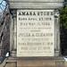 Amasa and Julia Stone cenotaph detail - Stone Memorial - Lake View Cemetery