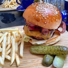 Speakeasy burger lunch at Speakeasy Kitchen in South Yarra