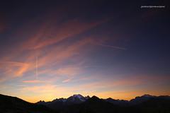 Tramonto sulla Marmolada (Explore, 01.01.16) (giovannispina31) Tags: sunset sky mountains clouds twilight tramonto nuvole glacier dolomiti sera marmolada