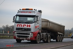 Volvo FH 'MPH' reg F16 MPH (erfmike51) Tags: lorry artic mph volvofh bulktipper