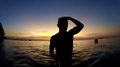 Thailand (skatelmwbtc) Tags: ocean travel sunset nature swimming thailand hiking cliffs snorkeling climbing caves backpacking jungle ko samui cave traveling thani koh lanta surat