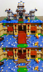 Castle MOC (front view) (Alex Tass) Tags: playing building castle history king play dragon lego bricks lion kingdom medieval historic knights soldiers knight fortress moc kingdoms talex myowncreation rolug myownconstruction