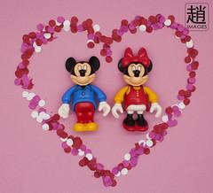 Love (mikechiu86) Tags: vintage heart valentine love toys minifigure mouse minnie disney lego mickey