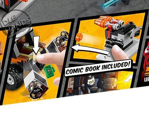 Toy Fair 2016 LEGO Marvel Captain America Civil War Crossbones