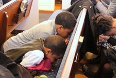 IMG_7271 (Atlanta Berean Church - photos.atlantaberean.com) Tags: boys praying kneeling