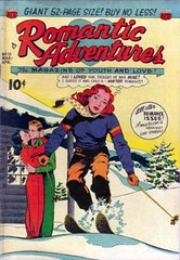 Romantic Adventures 13 (Michael Vance1) Tags: woman man art love comics artist marriage romance lovers adventure dating comicbooks relationships cartoonist anthology silverage