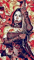 'Bloodwalker: Ambition's Blade' (vincentwarrican) Tags: art illustration photomanipulation photography artwork vampire badass digitalart fantasy actionfigures sword warrior vampires kitbash fantasyart swordsman onesixthscale originalcharacters actionfigurephotography phicen