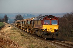Class 66 66160 NYMR (BillyGoat75) Tags: ballast hoppers nymr class66 ews diesels heritagerailway 66160 moorgates