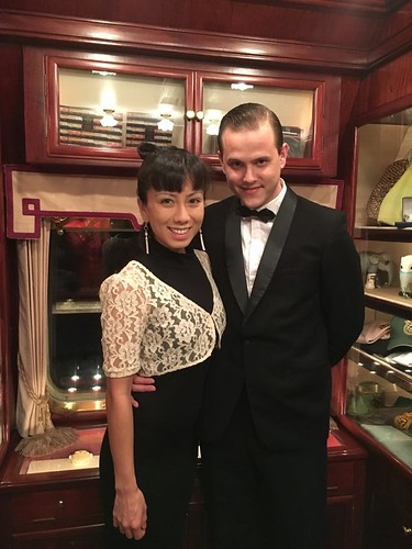 Honeymooners on the Eastern & Oriental Express Luxury Train Club