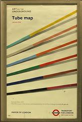 London Underground poster (bowroaduk) Tags: tube londonunderground londontransport