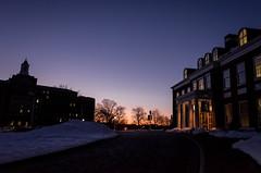 Sunset at Johns Hopkins University ( (Jason Lin)) Tags: sunset hall mason baltimore ricoh 2016 johnshopkinsuniversity grii
