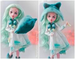 Laua with hat (lucylacri) Tags: cute monster high doll sweet ooak mint kawaii vanilla mh mattel draculaura