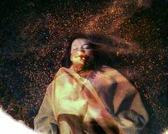 requiem (healingnoise) Tags: portrait art film analog dark polaroid death experimental doubleexposure surrealism dream surreal analogue psychedelic rebirth expired darkart expiredfilm filmphotography adiputra healingnoise